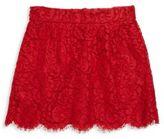Dolce & Gabbana Toddler's, Little Girl's & Girl's Floral Lace Skirt