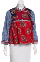 Ulla Johnson Vashti Patchwork Jacket
