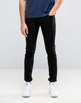ONLY & SONS Jeans In Skinny Fit Black Denim with Stretch