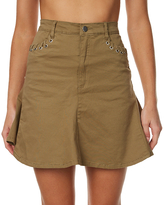 The Fifth Label Stevie Womens Skirt Green