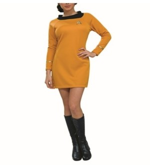 BuySeasons BuySeason Women's Star Trek Deluxe Command Uniform Costume