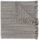 Forte Forte houndstooth print scarf
