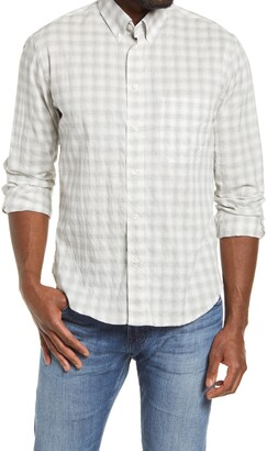 Billy Reid Tuscumbia Regular Fit Fleur de Lis Button-Down Shirt