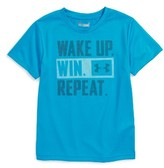 Under Armour Toddler Boy's Wake Up Graphic Heatgear T-Shirt