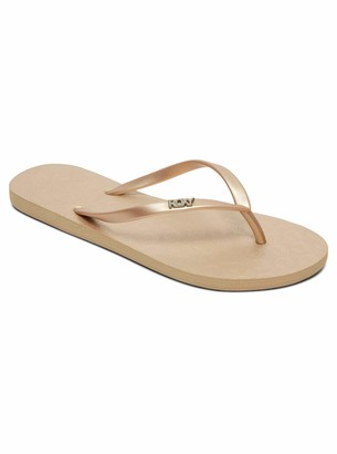 Roxy Women's Viva Beach & Pool Shoes (Metallic Gold MGD) 5 UK