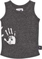 Nununu Charcoal Hand Print Tank Top
