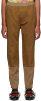 Gucci Brown Cotton Drill Trousers