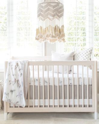 Oilo Studio Llama Jersey Crib Sheet
