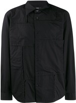 Diesel S-Audrey patchwork-design shirt