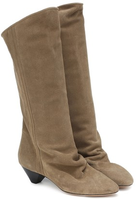 Isabel Marant Dathys suede boots