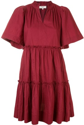 Sea Merlot dress