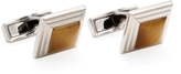 Canali Tiger Eye Steps Square Cufflinks