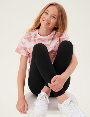 Marks and Spencer Cotton Leggings with Stretch (2-16 Yrs)