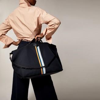 Love & Lore Love And Lore Striped Weekender Bag Black