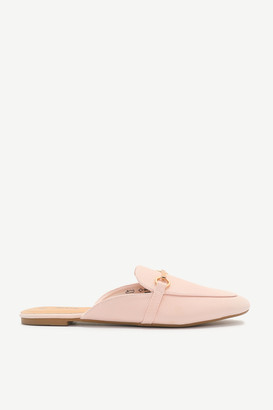 Ardene Faux Leather Mules