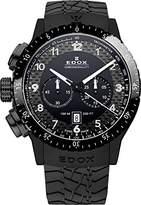 Edox Unisex Watch Rally Instruments Chrono Rally Chronograph Quartz Rubber 10305 37 N NN