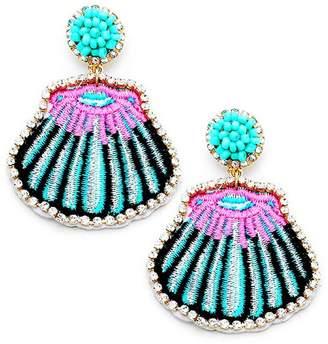 Wild Lilies Jewelry Shell Statement Earrings