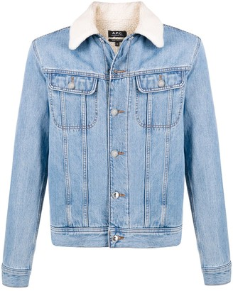 A.P.C. Julien regular-fit denim jacket