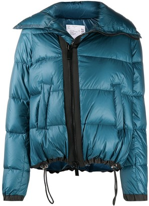 Sacai Long-Sleeve Puffer Jacket