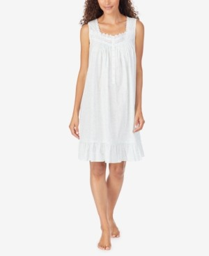 Eileen West Cotton Woven Chemise Nightgown