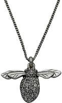 Fossil Glitz Bee Necklace