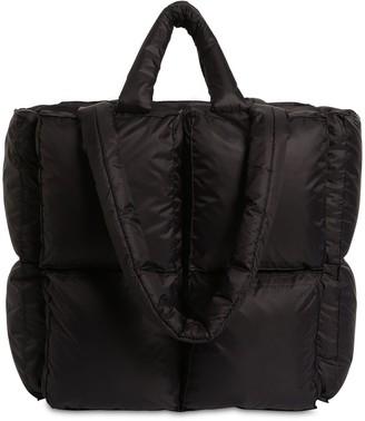 Off-White Small Puffy Nylon Tote Bag