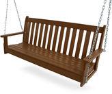 Polywood 60 Vineyard Swing, Teak