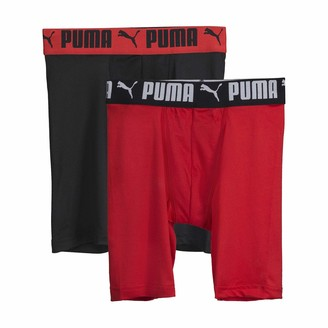 Puma Boys' Long Leg Performance Boxer Brief