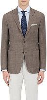 Canali Men's Kei Neat Wool-Blend Two-Button Sportcoat
