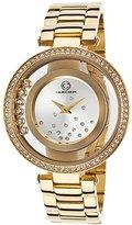 Cabochon Women's 80418-YG-02S Joya Analog Display Quartz Gold Watch