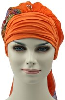 Generic Turban For Cancer Women Lightweight Bamboo Fabric Chemo Headwear