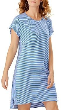 Tommy Bahama Cassia Striped T-Shirt Dress