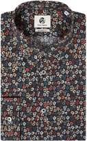 Paul Smith Men's Dark Floral Print Shirt