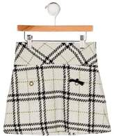 Lili Gaufrette Girls' Knit Mini Skirt
