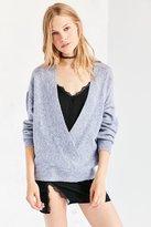 Silence & Noise Silence + Noise Cozy Surplice Sweater
