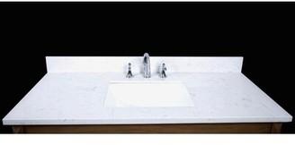"Renaissance Vanity Bari 49"" Single Bathroom Vanity Top"
