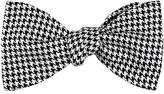 Barneys New York Men's Houndstooth Silk Bow Tie