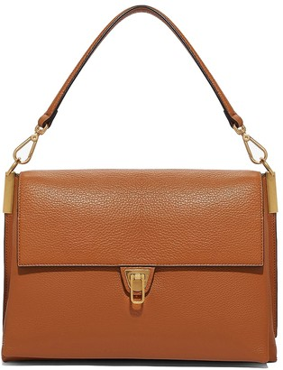 Coccinelle Caramel Maxi Marvin Desir Top Handle Bag