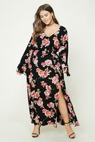 Forever 21 FOREVER 21+ Plus Size Floral Maxi Dress
