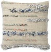 "Loloi Magnolia Home Baja Pillow, 18"" x 18"""