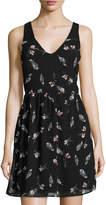 Dex Floral-Print Sleeveless Dress