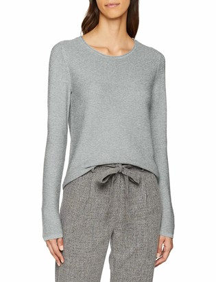Tom Tailor Women's Sweatpullover Mit Ottomaner Struktur Sweatshirt