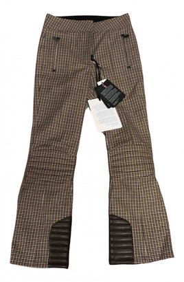 Moncler Brown Cloth Trousers