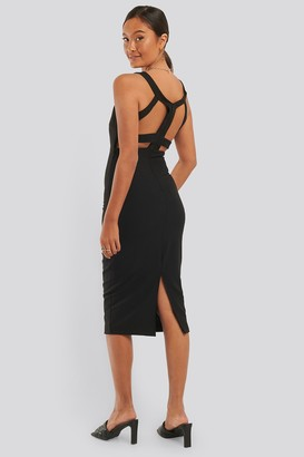 Trendyol Back Low-Cut Detail Dress