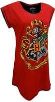 Harry Potter Hogwarts Juniors' Nightshirt Nightgown Pajamas (Teen/Adult)