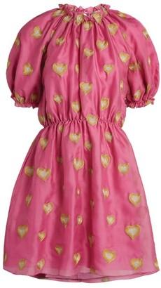 Stine Goya Silk Lindy Heart Dress