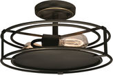 Dale Tiffany Dale TiffanyTM LED Peter Semi Flush Mount