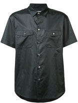Julien David shortsleeved shirt - men - Silk - M