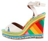 Valentino 1973 Espadrille Wedge Sandals