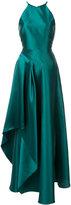 Badgley Mischka asymmetric night gown